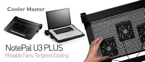 Diskon Cooler Master Notepal U3 Plus Black Silver With 3 Fan notepal u3 plus black silver end 11 8 2017 11 15 am