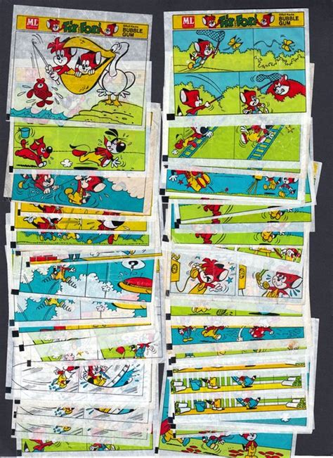 Box Set Cincin One exchange inserts my gum inserts collection