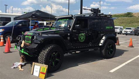 green zombie jeep jeep wrangler zombie response team 2017 2018 cars reviews