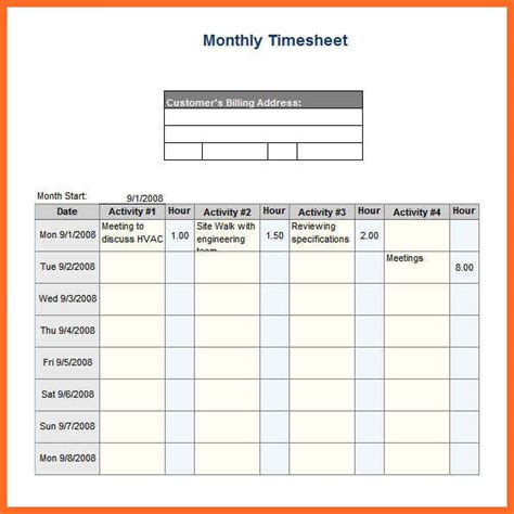 weekly timesheet template excel timesheet template excel soap format