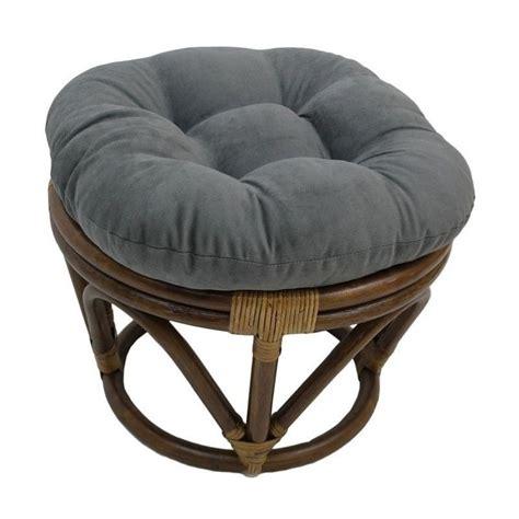 papasan chair ottoman international caravan bali rattan papasan footstool ottoman