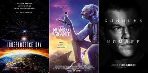 2016 proximos estrenos de peliculas julio 2016 pr 243 ximos estrenos de cine en cartelera