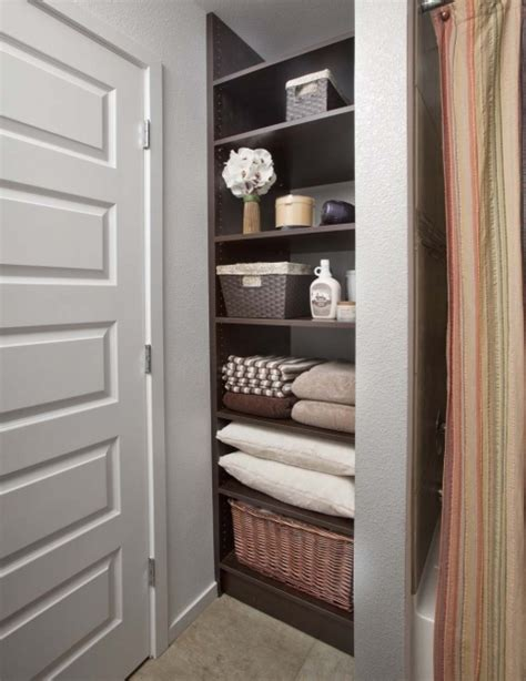 bathroom linen storage ideas small bathroom closet ideas storage closet small