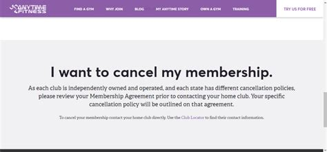 anytime fitness membership cancellation letter why can t we cancel a membership with anytime fitness quora