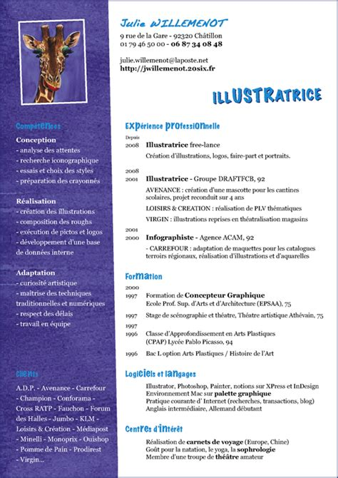 Création De Cv by Resume Format Best Presentation Cv