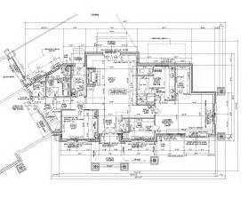 architect plan 2d autocad house plans residential building drawings cad