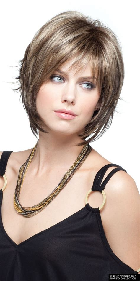 are bangs okay with medium short hair on 50 year old 15 fashionable bob hairstyles with layers pretty designs