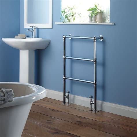 traditional heated towel rails for bathrooms milano derwent minimalist traditional heated towel rail 930mm x 630mm