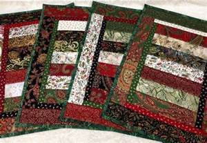 stunning quilted placemats set of 4