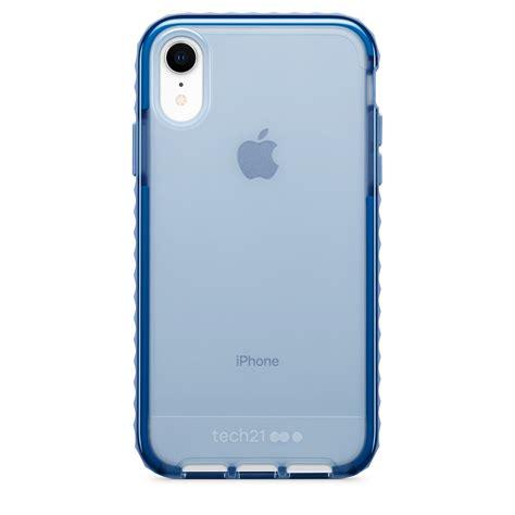 tech21 evo rox for iphone xr blue apple