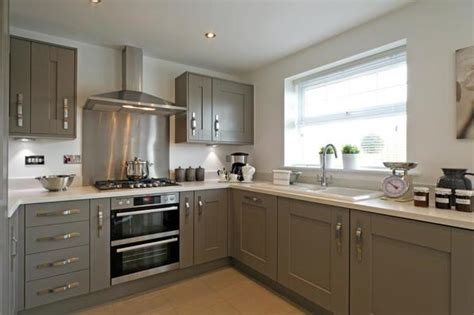 Black And Grey Kitchen Cabinets Black And Grey Kitchens Wimpey