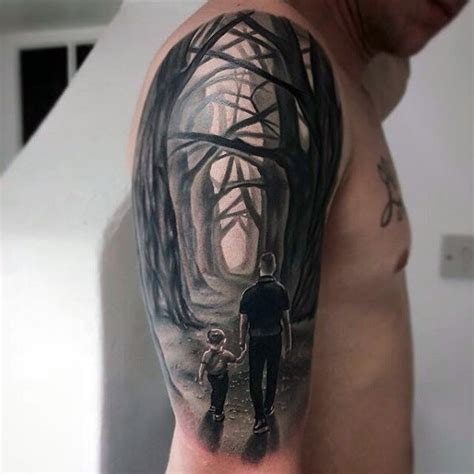 father and son tattoo designs top 50 best tattoos for manly design ideas