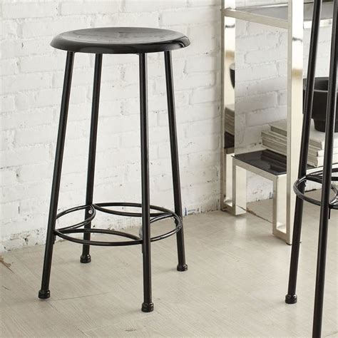 Whitman Industrial Counter Stool best 25 black counters ideas on black