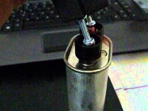 how to make a taser out of capacitors taser capacitor from microwave oven taser condensatore di un forno a microonde