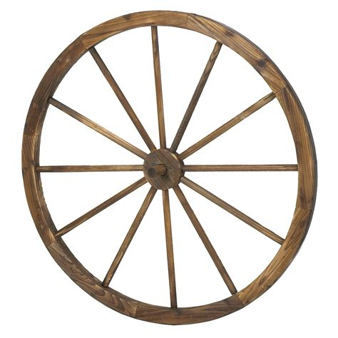 Decorative Wagon Wheels astonica 50308203 36 inch decorative fashioned wooden wagon wheel ebay