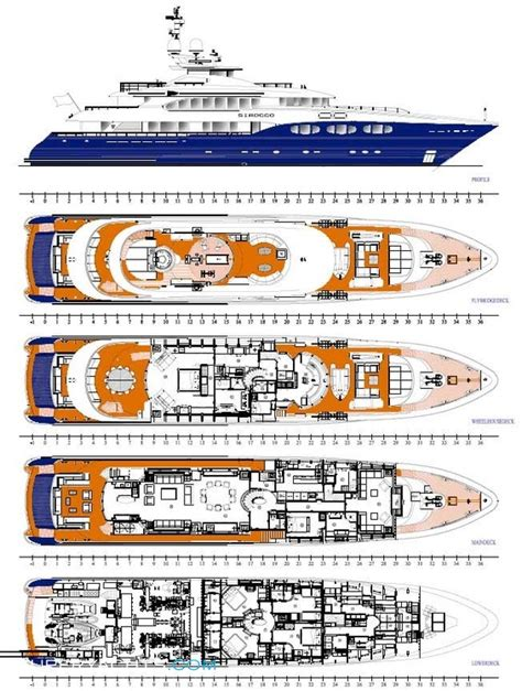 yacht layout plans sirocco layout heesen yachts motor yacht superyachts com
