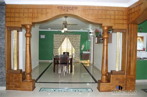 Home Interior Arch Designs by Kerala Interior Design Decorations And Wood Works