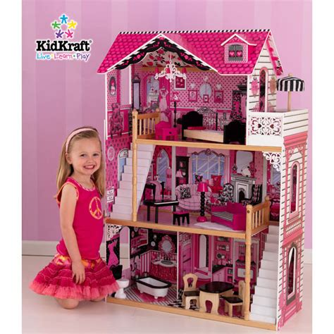 doll houses that fit barbies amelia doll s house with furniture reviews toylike