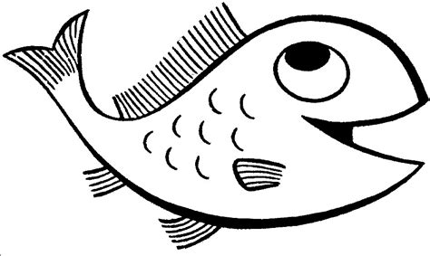Happy Fish Coloring Page | happy fish coloring page coloring book