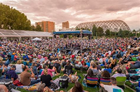 Denver Botanic Gardens Concert by How To Attend The Summer Concert Series Like A Pro
