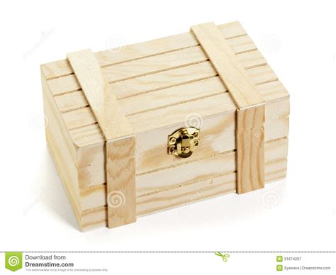 small crate small wooden crate isolated stock photo image 51674297