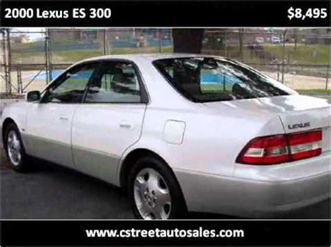 car manuals free online 2000 lexus es regenerative braking 2000 lexus es 300 problems online manuals and repair information
