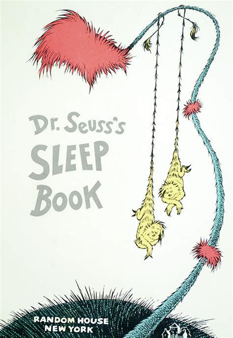 0008240051 dr seuss s sleep book dr seuss s sleep book first edition rare