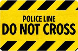 Rubber Donut Cushion Welcome Mats Police Line Do Not Cross Mat Sku Mt 2676
