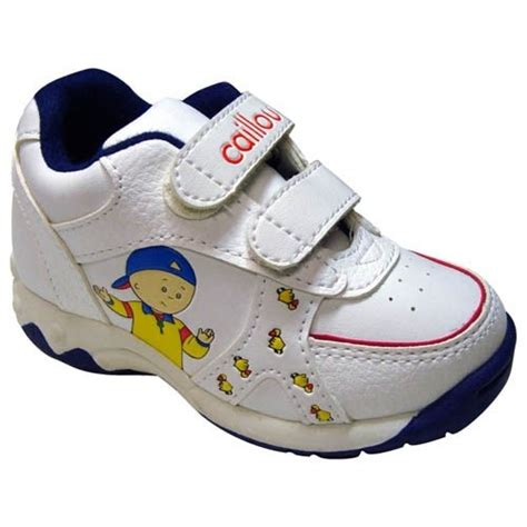 caillou slippers caillou repeating athletic shoe from pbs shop for