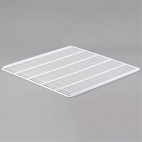 turbo air p0178q0100 left white coated wire shelf 22 1 2