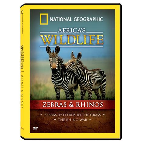 National Geographic Wildlife africa s wildlife collection zebras and rhinos dvd