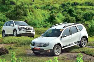 Renault Duster Comparison Renault Duster Awd Vs Mahindra Xuv500 Awd Comparison