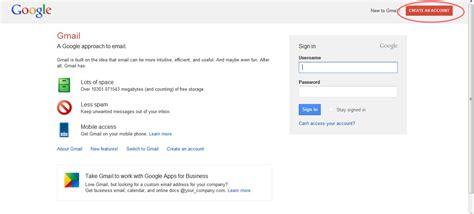 membuat account google mail cara membuat gmail google email saran2 com