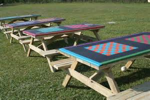 Plans For Wood Picnic Tables by Imagination Playground Play Today Kaboom