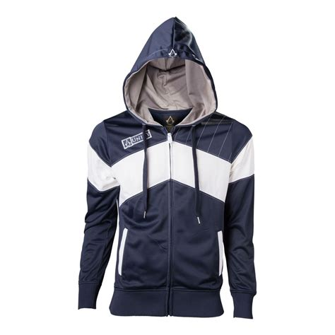 Hoodie Assassins Creed Unity g4219 assassin s creed unity large slanted stripe hoodie