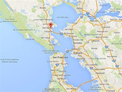 map of sausalito area location dr six phd therapist marin