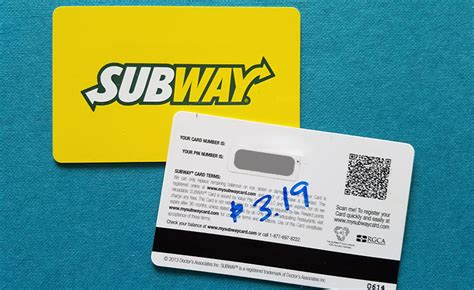how to check subway gift card balance at mysubwaycard com complete step by step - How To Use Subway Gift Card