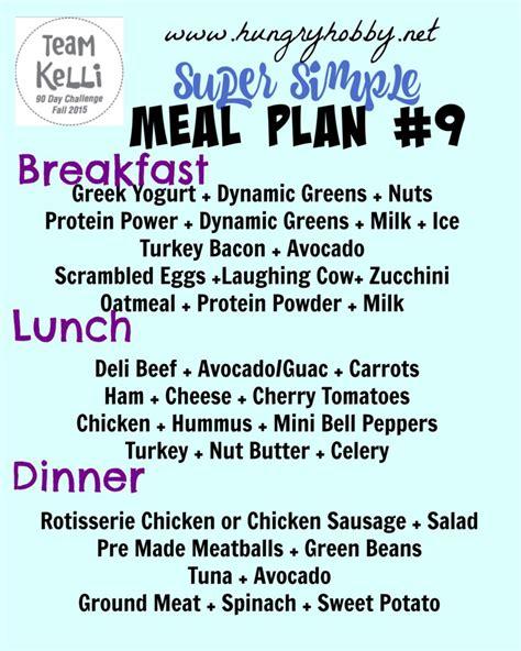 90 day challenge diet plan weekend stuff simple week 8 meal ideas 90 day