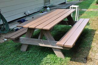 taya  plans  building  picnic table  separate