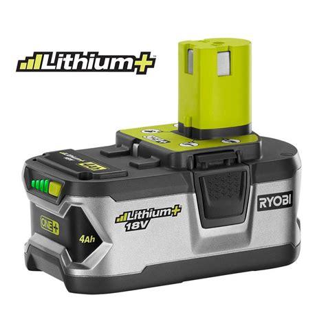 ryobi 18 volt one lithium ion high capacity lithium
