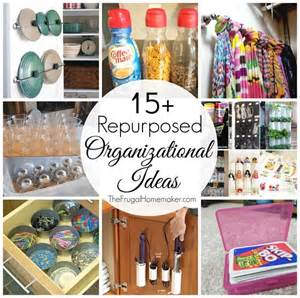 Cheap Kitchen Organization Ideas 15 Repurposed Organizational Ideas