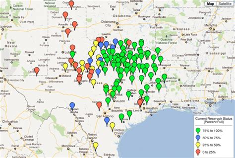 texas map with lakes why texas still has a way to go to recover from the drought stateimpact texas