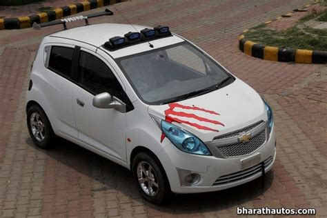 Car Modification Websites India by Modified Chevrolet Beat In Kerala Www Imgkid The