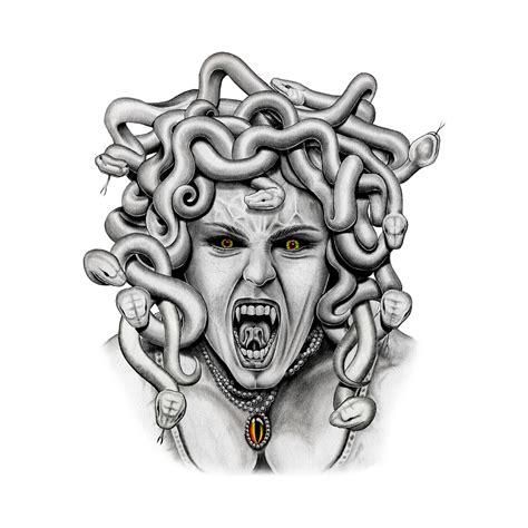 medusa medusa temporary tattoo momentary ink