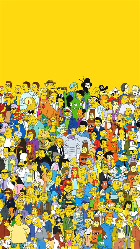 wallpaper iphone 5 simpsons freeios7 the simpsons parallax hd iphone ipad wallpaper