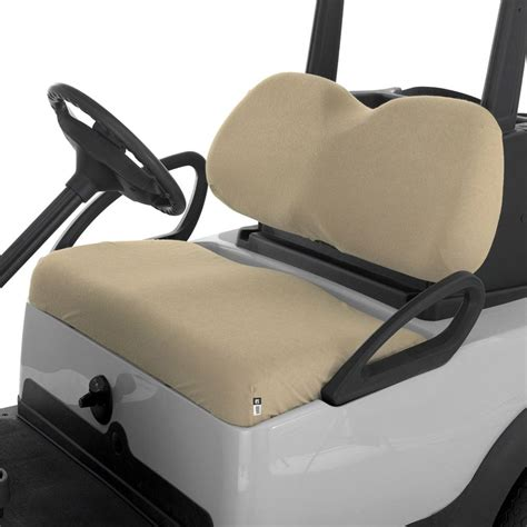 bench car seat covers classic accessories 174 fairway terry cloth golf car bench seat cover