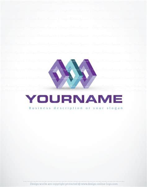 free logo design unique 3d unique cubes logo