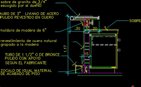 bar furniture section dwg section  autocad designs cad