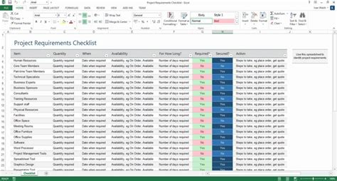 Requirements Spreadsheet Template Spreadsheet Templates For Business Requirements Spreadshee Reporting Requirements Template Excel Spreadsheet