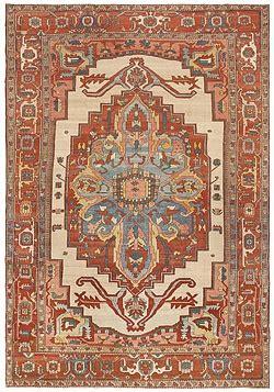Braided Area Rugs The Beauty Of Geometry Antique Heriz Serapi Bakshaish